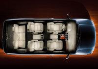 2009 Infiniti QX56, Overhead Interior View, exterior, interior, manufacturer