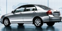 2009 Kia Spectra, Back Left Quarter View, exterior, manufacturer, gallery_worthy