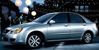 2009 Kia Spectra, Front Left Quarter View, exterior, manufacturer