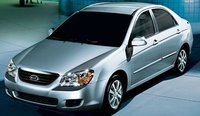 2009 Kia Spectra, Front Left Quarter View, exterior, manufacturer, gallery_worthy