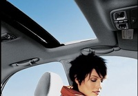 2009 Kia Spectra, Interior Sunroof View, manufacturer, interior