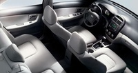 2009 Kia Spectra, Overhead Interior View, interior, manufacturer