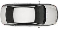2009 Kia Spectra, Overhead View, exterior, manufacturer