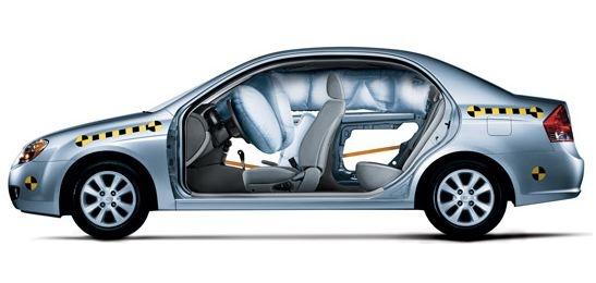 2009 Kia Spectra, Side View, exterior, interior, manufacturer