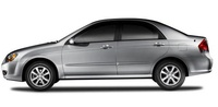 2009 Kia Spectra, Left Side View, exterior, manufacturer