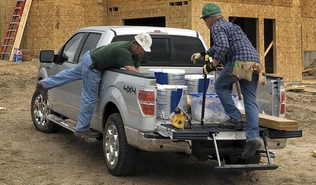 2009 Ford F-150, Back Left Quarter View, exterior, manufacturer