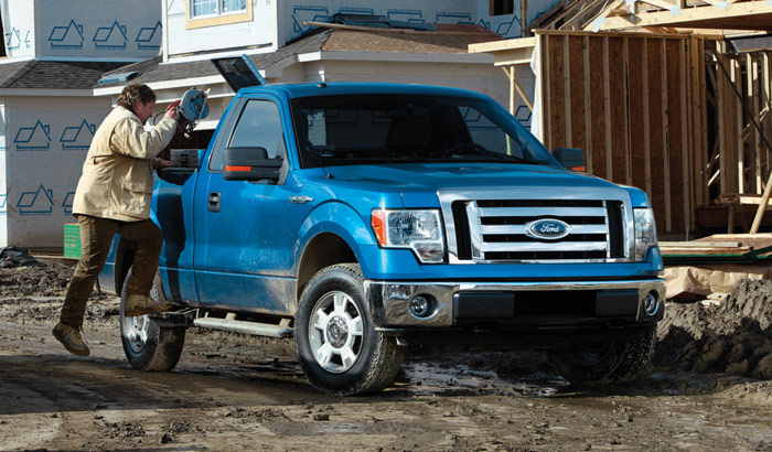 2009 Ford F-150, Front Right Quarter View, manufacturer, exterior