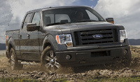 2009 Ford F-150, Front Right Quarter View, exterior, manufacturer