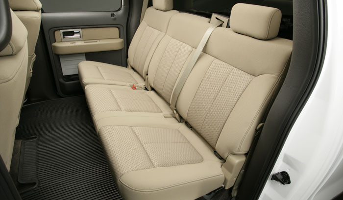 2009 Ford F-150, Interior Backseat View, interior, manufacturer