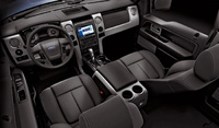 2009 Ford F-150, Interior Overhead View, interior, manufacturer