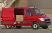 2009 Dodge Sprinter Cargo, Front Right Quarter View, manufacturer, exterior