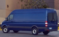 2009 Dodge Sprinter Cargo, Back Left Quarter View, manufacturer, exterior