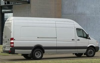 2009 Dodge Sprinter Cargo, Back Right Quarter View, manufacturer, exterior