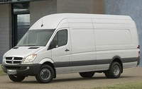 2009 Dodge Sprinter Cargo, Front Left Quarter View, manufacturer, exterior