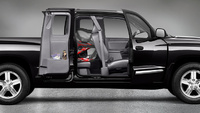 2009 Dodge Dakota, Right Side View, exterior, interior, manufacturer