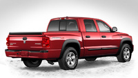 2009 Dodge Dakota, Back Right Quarter View, manufacturer, exterior