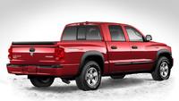 2009 Dodge Dakota, Back Right Quarter View, exterior, manufacturer