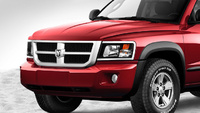 2009 Dodge Dakota, Front Left Quarter View, exterior, manufacturer