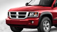 2009 Dodge Dakota, Front Left Quarter View, exterior, manufacturer