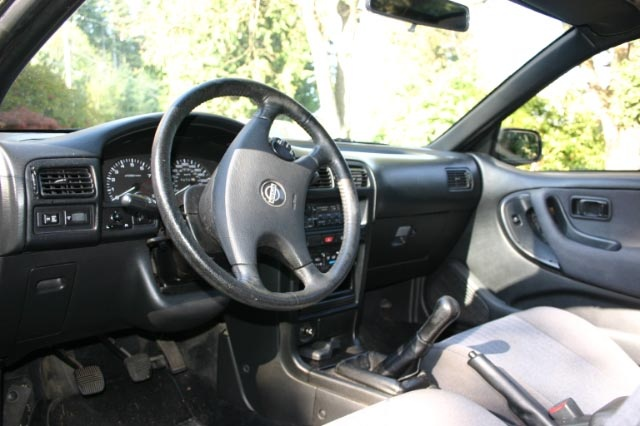 Picture of 1991 Nissan NX 2 Dr 2000 Hatchback, interior, gallery_worthy