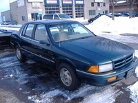 1990 Dodge Spirit 4 Dr ES Sedan picture, exterior