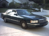1997 Cadillac DeVille Base Sedan, 1997 Cadillac DeVille 4 Dr STD Sedan picture, exterior