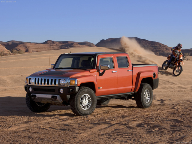 Picture of 2009 Hummer H3T, exterior, manufacturer, gallery_worthy