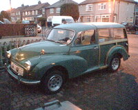 1966 Morris Minor Picture Gallery