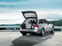 2009 Audi A4 Avant, Back Right Quarter View, manufacturer, exterior