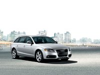 2009 Audi A4 Avant, Front Right Quarter View, exterior, manufacturer