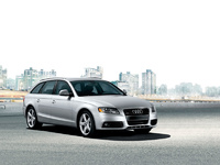 2009 Audi A4 Avant, Front Right Quarter View, manufacturer, exterior