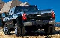 2009 Chevrolet Silverado 3500HD, Back Left Quarter View, manufacturer, exterior