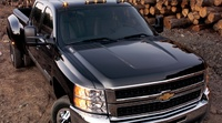 2009 Chevrolet Silverado 3500HD, Front Right Quarter View, exterior, manufacturer