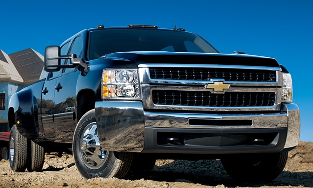 2009 Chevrolet Silverado 3500HD, Front Right Quarter View, manufacturer, exterior