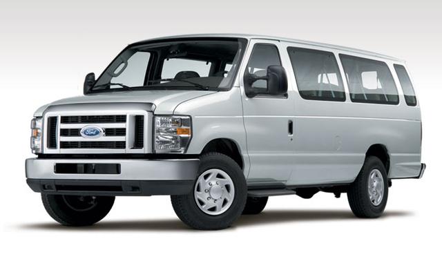 2009 Ford E-Series Cargo, Front Left Quarter View, exterior, manufacturer