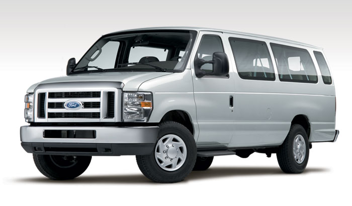 2009 Ford E-Series Cargo, Front Left Quarter View, manufacturer, exterior