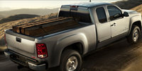 2009 GMC Sierra 2500HD, Back Right Quarter View, exterior, manufacturer