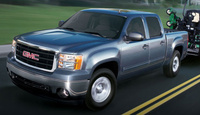 2009 GMC Sierra 2500HD, Front Left Quarter View, exterior, manufacturer