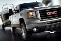 2009 GMC Sierra 2500HD, Front Right Quarter View, exterior, manufacturer
