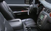 2009 GMC Sierra 2500HD, Interior Front View, interior, manufacturer