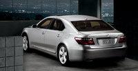 2009 Lexus LS 600h L, back view, exterior, manufacturer