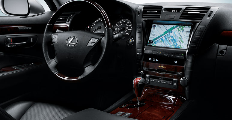 2009 Lexus LS 600h L, steering wheel, manufacturer, interior