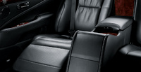 2009 Lexus LS 600h L, backseat, manufacturer, interior