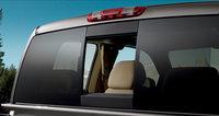 2009 GMC Sierra 3500HD, Rear Window View, manufacturer