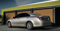 2009 Lexus ES 350, Back Left Quarter View, exterior, manufacturer