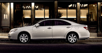2009 Lexus ES 350, Left Side View, manufacturer, exterior