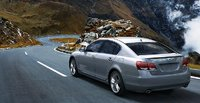 2009 Lexus GS 450h, Back Left Quarter View, exterior, manufacturer