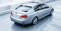 2009 Lexus GS 450h, Back Right Quarter View, exterior, manufacturer