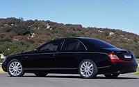 2009 Maybach 57, Back Left Quarter View, exterior, manufacturer