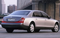 2009 Maybach 57, Back Right Quarter View, exterior, manufacturer